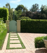 Turf Entry Walkway
